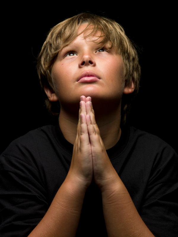 child-prayer