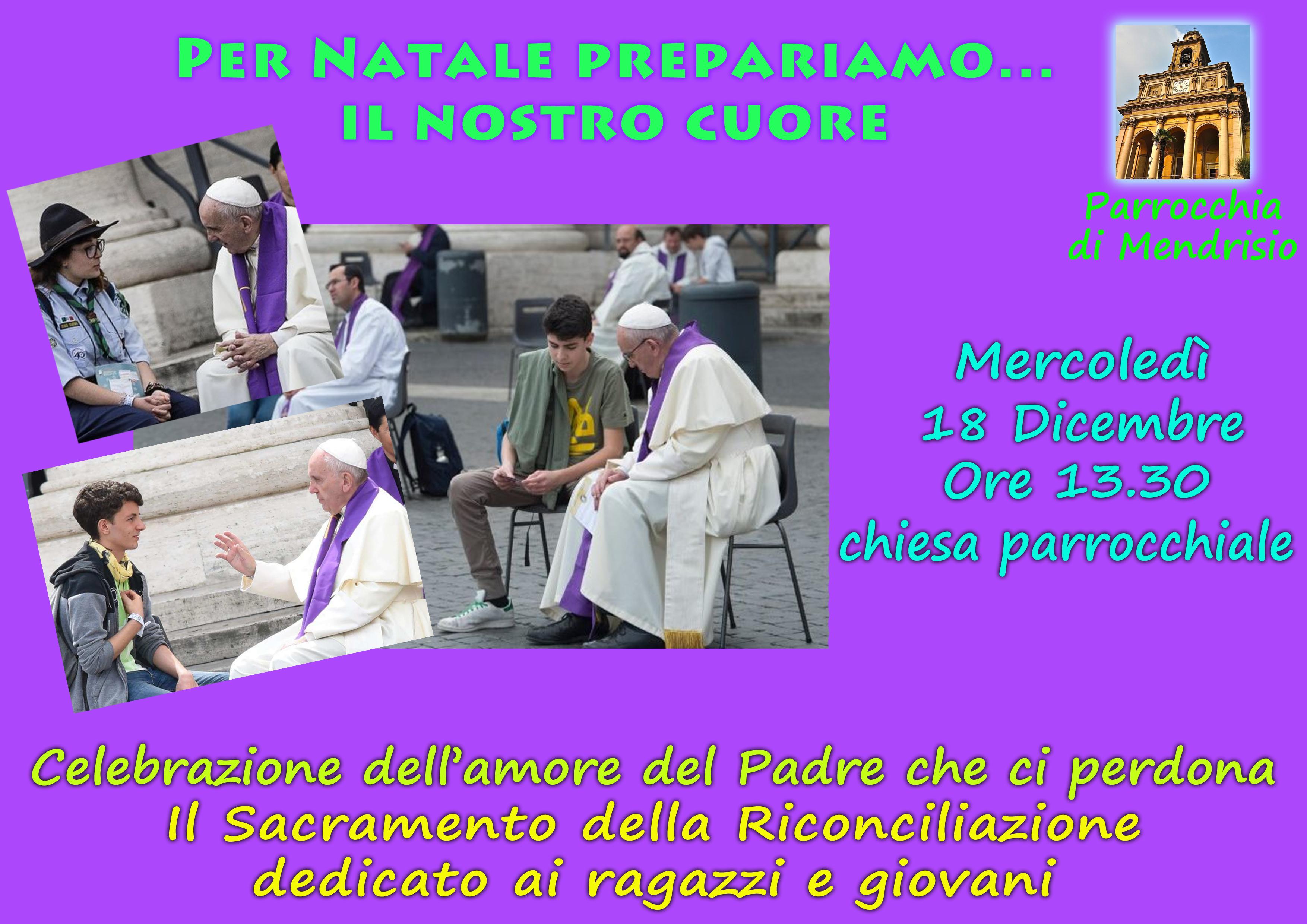 2019_Celebrazione Penitenziale_Natale_ragazzi