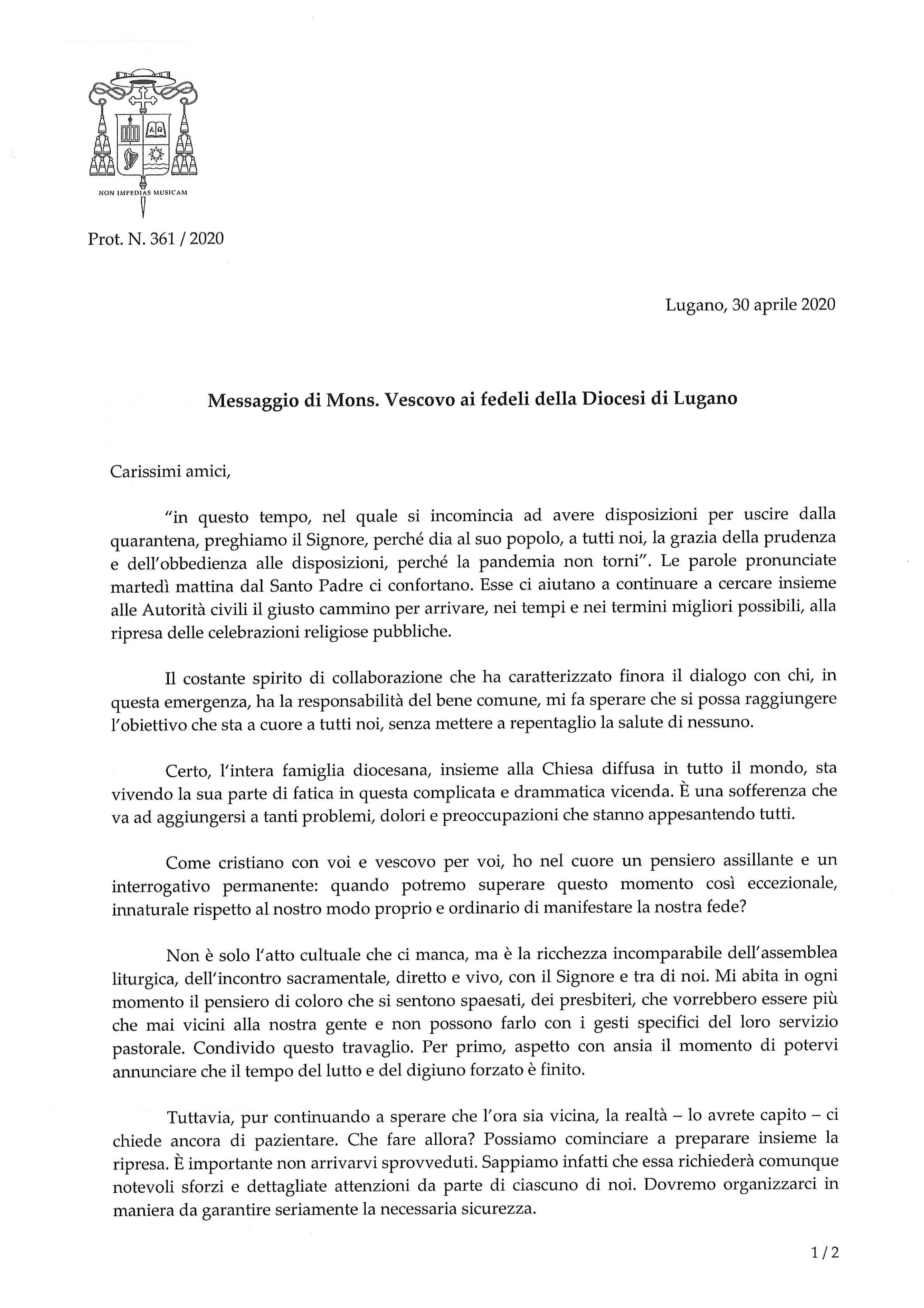 361_Diocesi_Cvid-19_messaggio_200430-001