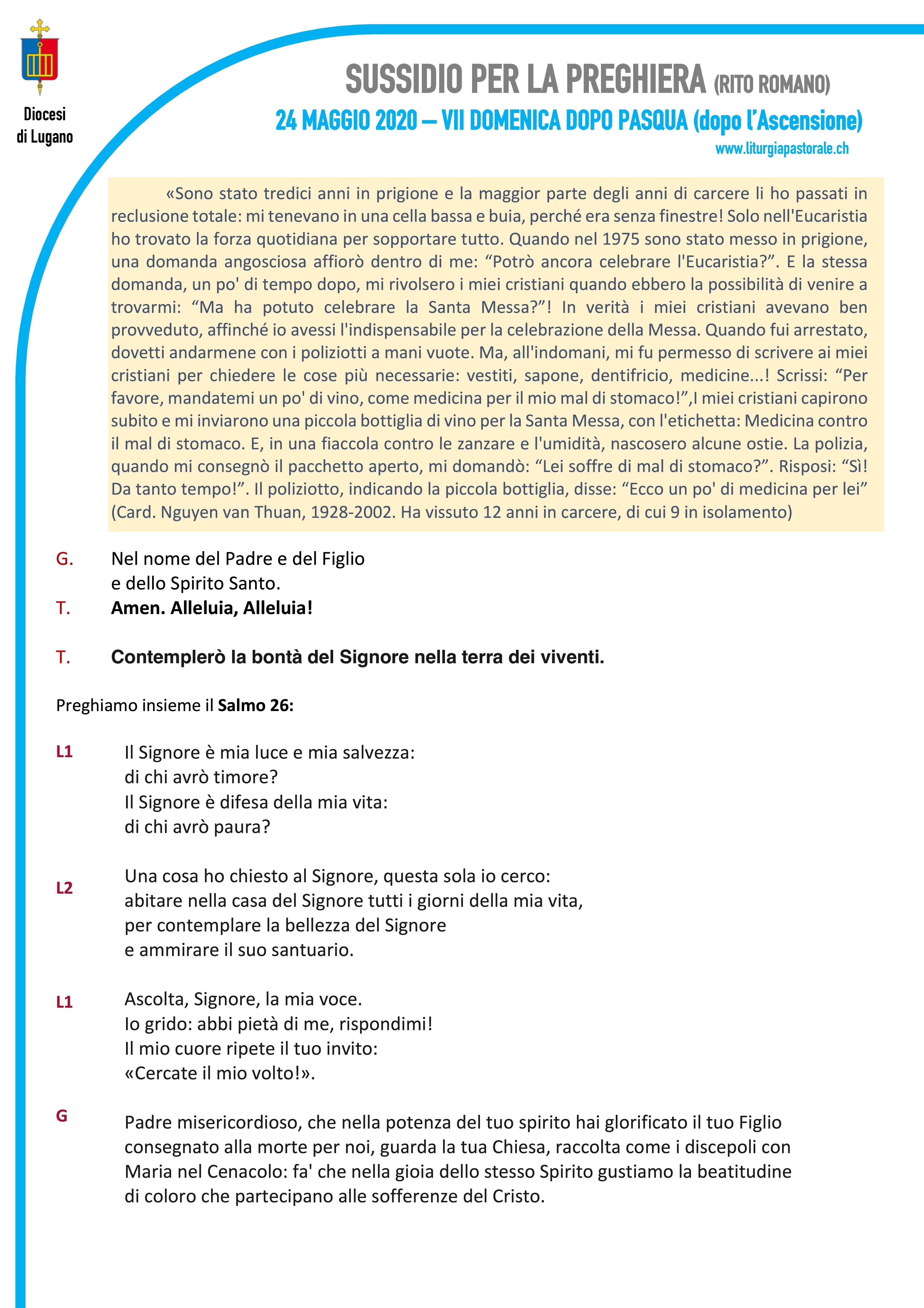 2020 - Coronavirus - VII Pasqua Romano-001